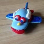 粘土飛行機