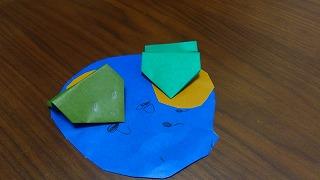 折り紙の犬