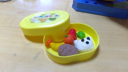 粘土の弁当箱